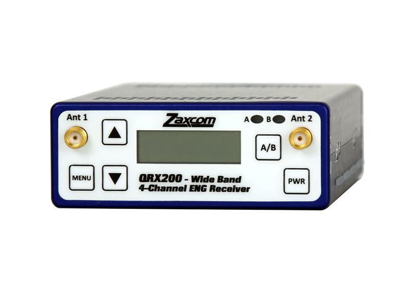 QRX200 |+QRX200 宽带 4-频道 ENG 接收机
