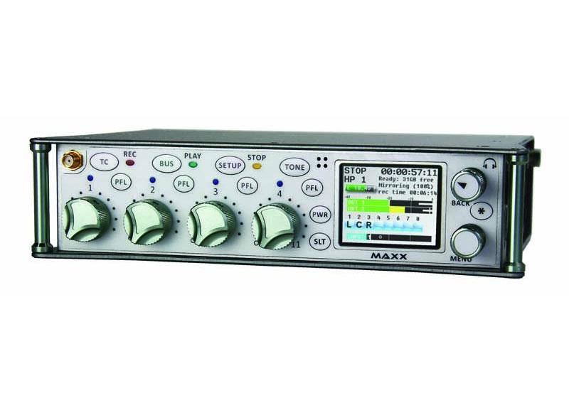 Maxx: Mixer / Recorder / Transmitter  Camera Link |+Maxx: Mixer / Recorder / Transmitter  Camera Lin